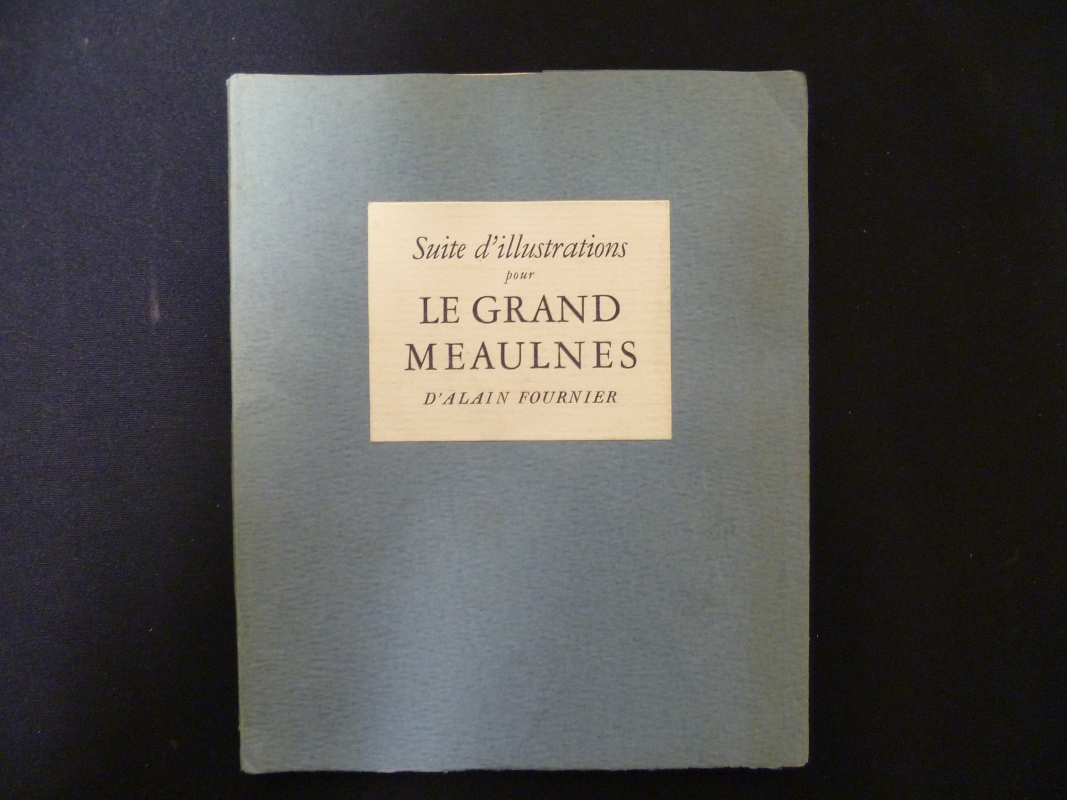 Le Grand Meaulnes illustré par Laure Albin-Guillot